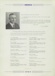 Page 17, 1937 Edition, South High School - Oriole Yearbook (Pittsburgh, PA) online yearbook collection