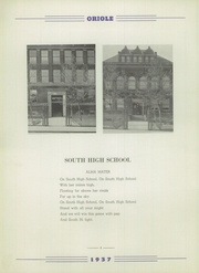 Page 8, 1937 Edition, South High School - Oriole Yearbook (Pittsburgh, PA) online yearbook collection
