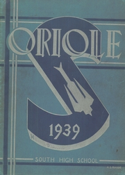 Page 1, 1939 Edition, South High School - Oriole Yearbook (Pittsburgh, PA) online yearbook collection