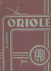1940 Edition, South High School - Oriole Yearbook (Pittsburgh, PA)