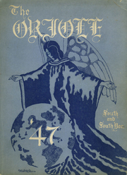1947 Edition, South High School - Oriole Yearbook (Pittsburgh, PA)