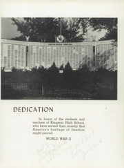 Page 7, 1946 Edition, Kingston High School - Kingstonian Yearbook (Kingston, PA) online yearbook collection