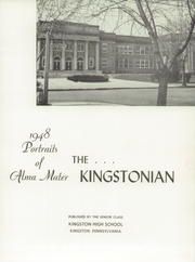 Page 7, 1948 Edition, Kingston High School - Kingstonian Yearbook (Kingston, PA) online yearbook collection