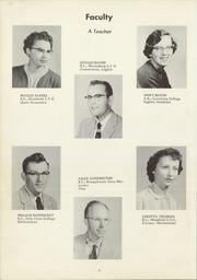 Page 10, 1957 Edition, Northeast Bradford High School - Nord Est Yearbook (Rome, PA) online yearbook collection