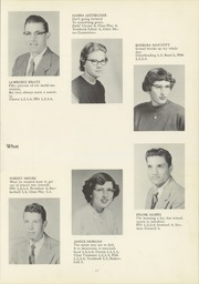 Page 21, 1957 Edition, Northeast Bradford High School - Nord Est Yearbook (Rome, PA) online yearbook collection