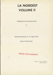 Page 5, 1957 Edition, Northeast Bradford High School - Nord Est Yearbook (Rome, PA) online yearbook collection