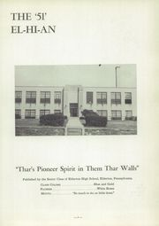 Page 7, 1951 Edition, Elderton High School - El Hy An Yearbook (Elderton, PA) online yearbook collection