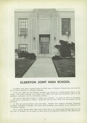 Page 6, 1955 Edition, Elderton High School - El Hy An Yearbook (Elderton, PA) online yearbook collection