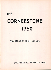Page 5, 1960 Edition, Swarthmore High School - Spotlight Yearbook (Swarthmore, PA) online yearbook collection