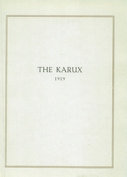 Page 9, 1919 Edition, Mercersburg Academy - Karux Yearbook (Mercersburg, PA) online yearbook collection