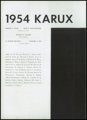 Page 10, 1954 Edition, Mercersburg Academy - Karux Yearbook (Mercersburg, PA) online yearbook collection
