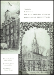 Page 7, 1957 Edition, Mercersburg Academy - Karux Yearbook (Mercersburg, PA) online yearbook collection