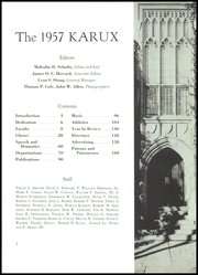 Page 9, 1957 Edition, Mercersburg Academy - Karux Yearbook (Mercersburg, PA) online yearbook collection
