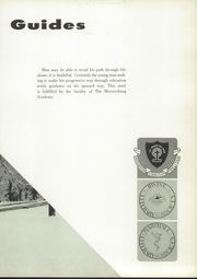 Page 13, 1958 Edition, Mercersburg Academy - Karux Yearbook (Mercersburg, PA) online yearbook collection