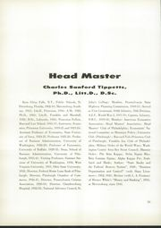 Page 14, 1958 Edition, Mercersburg Academy - Karux Yearbook (Mercersburg, PA) online yearbook collection