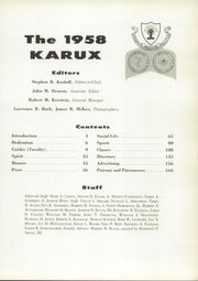 Page 9, 1958 Edition, Mercersburg Academy - Karux Yearbook (Mercersburg, PA) online yearbook collection