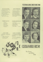 Page 17, 1940 Edition, West Chester High School - Garnet and White Yearbook (West Chester, PA) online yearbook collection