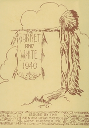 Page 5, 1940 Edition, West Chester High School - Garnet and White Yearbook (West Chester, PA) online yearbook collection