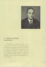 Page 7, 1940 Edition, West Chester High School - Garnet and White Yearbook (West Chester, PA) online yearbook collection