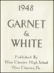 Page 7, 1948 Edition, West Chester High School - Garnet and White Yearbook (West Chester, PA) online yearbook collection