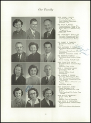 Page 14, 1953 Edition, West Chester High School - Garnet and White Yearbook (West Chester, PA) online yearbook collection