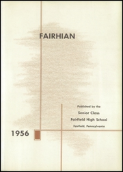 Page 5, 1956 Edition, Fairfield Area High School - Fairhian Yearbook (Fairfield, PA) online yearbook collection