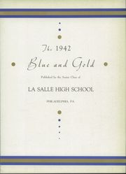 Page 7, 1942 Edition, La Salle College High School - Blue and Gold Yearbook (Wyndmoor, PA) online yearbook collection