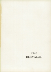 Page 5, 1946 Edition, Berlin Brothersvalley High School - Bervalon Yearbook (Berlin, PA) online yearbook collection