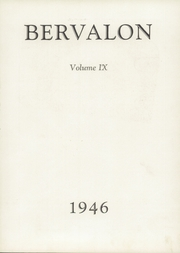 Page 7, 1946 Edition, Berlin Brothersvalley High School - Bervalon Yearbook (Berlin, PA) online yearbook collection