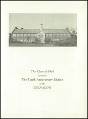 Page 7, 1948 Edition, Berlin Brothersvalley High School - Bervalon Yearbook (Berlin, PA) online yearbook collection