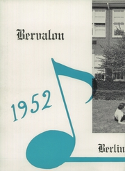 Page 6, 1952 Edition, Berlin Brothersvalley High School - Bervalon Yearbook (Berlin, PA) online yearbook collection