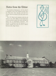 Page 9, 1952 Edition, Berlin Brothersvalley High School - Bervalon Yearbook (Berlin, PA) online yearbook collection