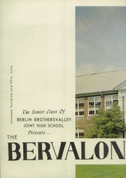 Page 6, 1959 Edition, Berlin Brothersvalley High School - Bervalon Yearbook (Berlin, PA) online yearbook collection