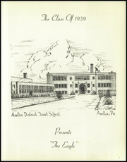 Page 5, 1959 Edition, Avella High School - Eagle Yearbook (Avella, PA) online yearbook collection