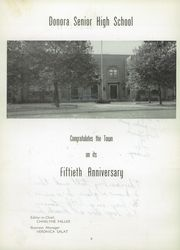 Page 8, 1951 Edition, Donora High School - Dragon Yearbook (Donora, PA) online yearbook collection