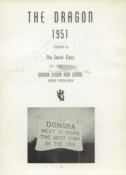 Page 9, 1951 Edition, Donora High School - Dragon Yearbook (Donora, PA) online yearbook collection