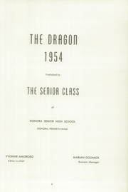 Page 9, 1954 Edition, Donora High School - Dragon Yearbook (Donora, PA) online yearbook collection