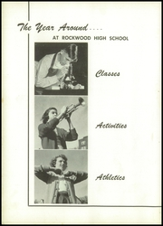 Page 10, 1950 Edition, Rockwood High School - Rocket Yearbook (Rockwood, PA) online yearbook collection