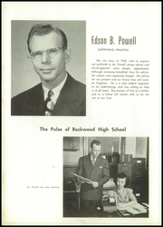 Page 12, 1950 Edition, Rockwood High School - Rocket Yearbook (Rockwood, PA) online yearbook collection