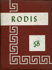 1958 Edition, Lincoln High School - Rodis Yearbook (Midland, PA)