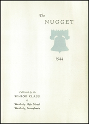 Page 5, 1944 Edition, Weatherly High School - Nugget Yearbook (Weatherly, PA) online yearbook collection