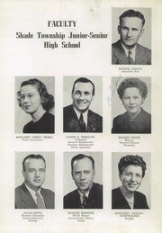 Page 11, 1951 Edition, Shade Township High School - Shadonian Yearbook (Cairnbrook, PA) online yearbook collection