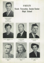 Page 12, 1951 Edition, Shade Township High School - Shadonian Yearbook (Cairnbrook, PA) online yearbook collection