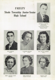 Page 13, 1951 Edition, Shade Township High School - Shadonian Yearbook (Cairnbrook, PA) online yearbook collection