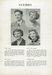 Page 16, 1951 Edition, Shade Township High School - Shadonian Yearbook (Cairnbrook, PA) online yearbook collection