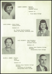 Page 13, 1954 Edition, Wattsburg Area High School - Grail Yearbook (Wattsburg, PA) online yearbook collection