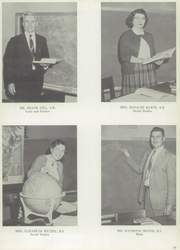 Page 15, 1956 Edition, West Snyder High School - Legend Yearbook (Beaver Springs, PA) online yearbook collection