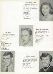 Page 16, 1956 Edition, Fort Leboeuf High School - Sentinel Yearbook (Waterford, PA) online yearbook collection