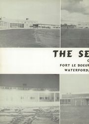Page 6, 1956 Edition, Fort Leboeuf High School - Sentinel Yearbook (Waterford, PA) online yearbook collection