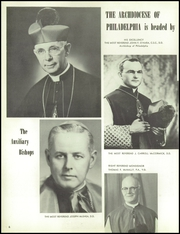 Page 10, 1956 Edition, St Thomas More High School - Utopian Yearbook (Philadelphia, PA) online yearbook collection